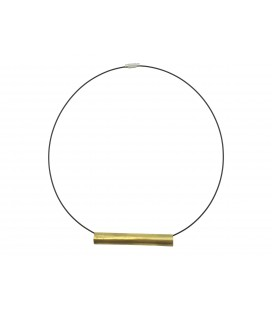 Thin brass tube