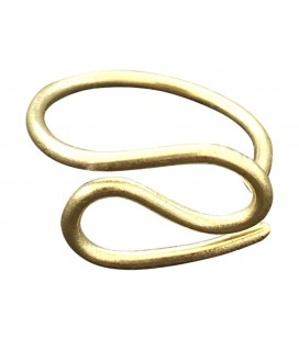 Wire brass ring