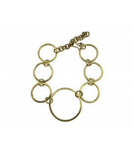 Rings brass bracelet