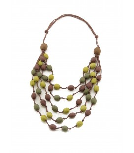 Bunt5 silk necklace