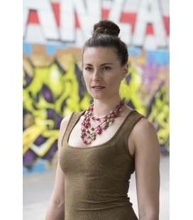 Bunt5 silk necklace
