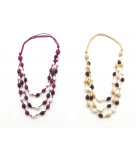 Bunt3 silk necklace