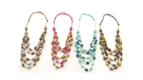 Stunning Bunt5 silk necklace!